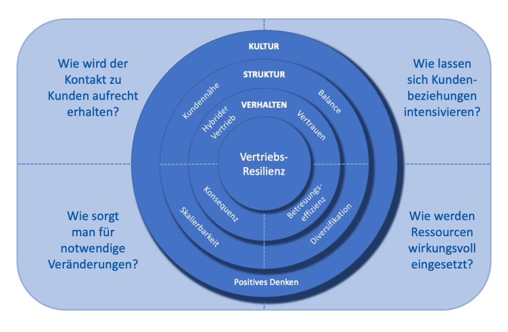 Faktoren der Vertriebsresilienz