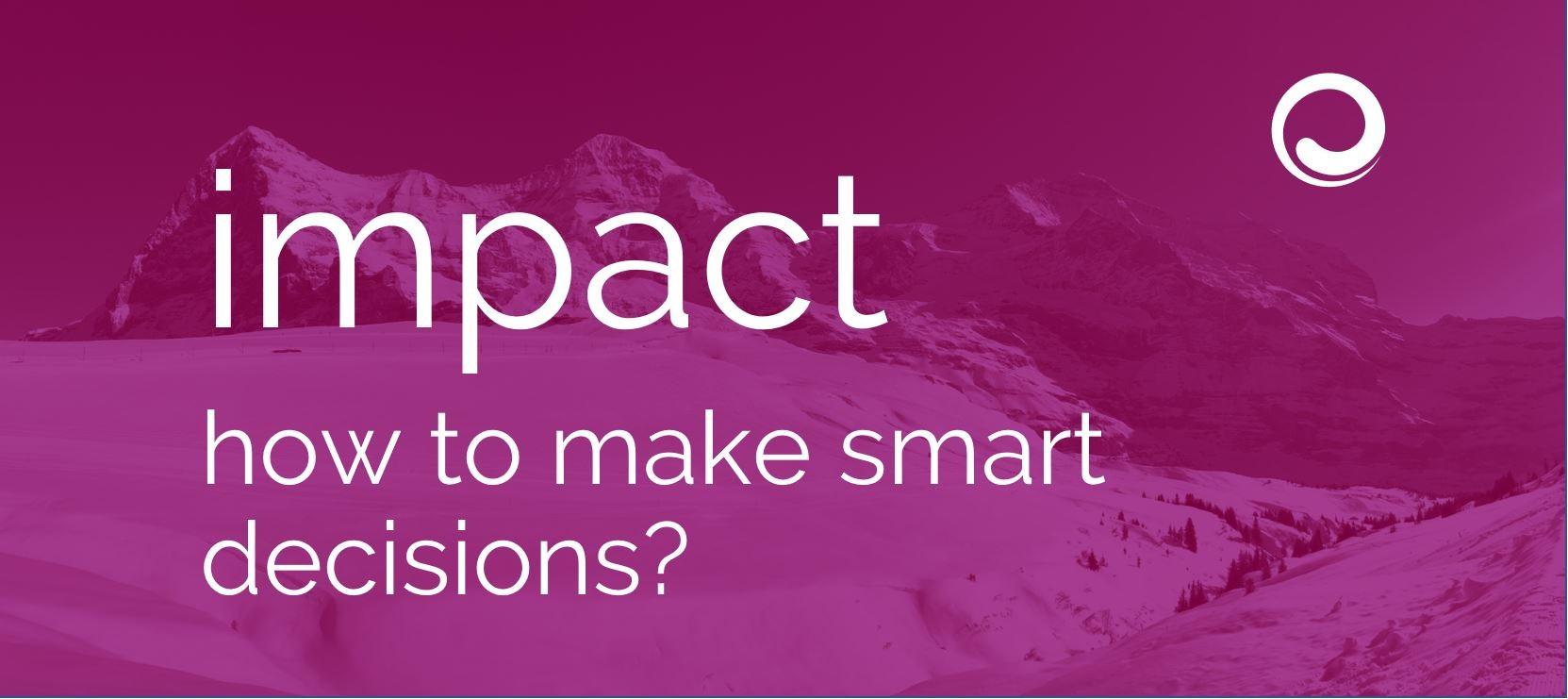Magazin - impact - smart decisions 09-2021